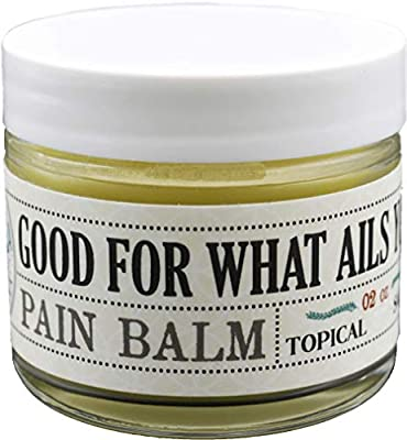 Good For What Ails You Balm Topical Salve 250mg Hemp Extract Isolate Pain Relief Organic from Good For What Ails You
