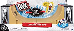 Tech Deck - Ultimate Half-Pipe Ramp and Exclusive Primitive Pro Model Finger Board, for Ages 6 and Up
