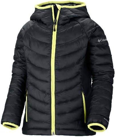 Columbia Girl's Powder Lite Hybrid Puffer Jacket Black