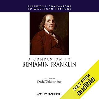 A Companion to Benjamin Franklin copertina