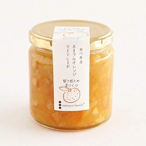 ミトヨフーズ ネーブルオレンジジャム 250g 低糖度
