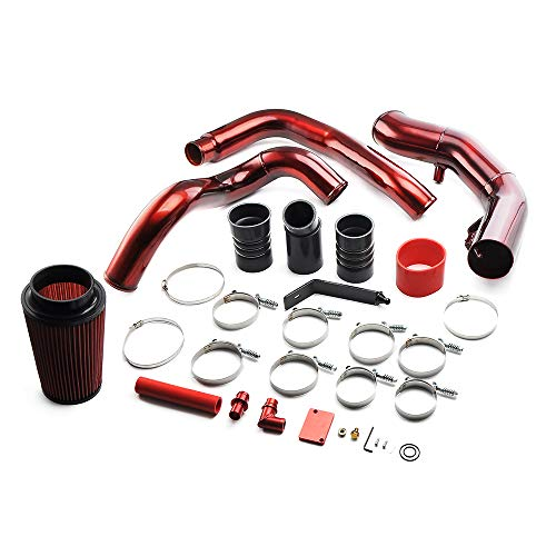 MotorFansClub Turbo Intercooler Pipe & Cold Air Intake Kit Fit for Compatible with Ford F350 6.0L 2003-2007