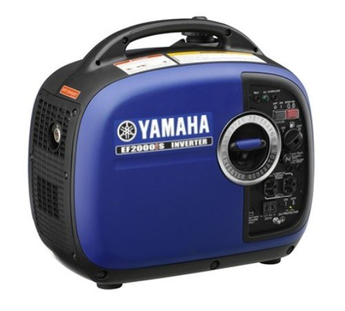 Yamaha EF2000iSv2, 1600 Running Watts/2000 Starting Watts, Gas Powered Portable Inverter,Blue