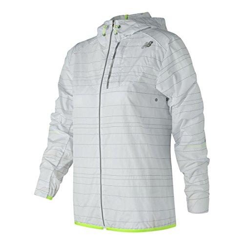 New Balance Womens Reflective Lite Packable Jacket