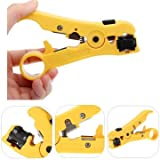 RENCALO Rotary Coax Coaxial Cable Wire Cutter Stripping...