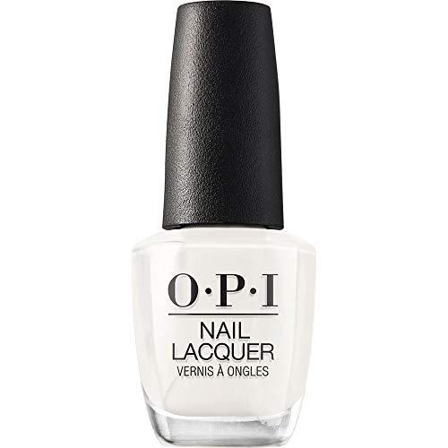 OPI Nail Lacquer - Nagellack in Weißtönen mit bis zu 7 Tagen Halt - Ergiebig, langlebig & splitterfest – 15ml