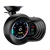 LLC-POWER Universal Car HUD Duales System Head Up Display, Multifunktions Trip Computer...