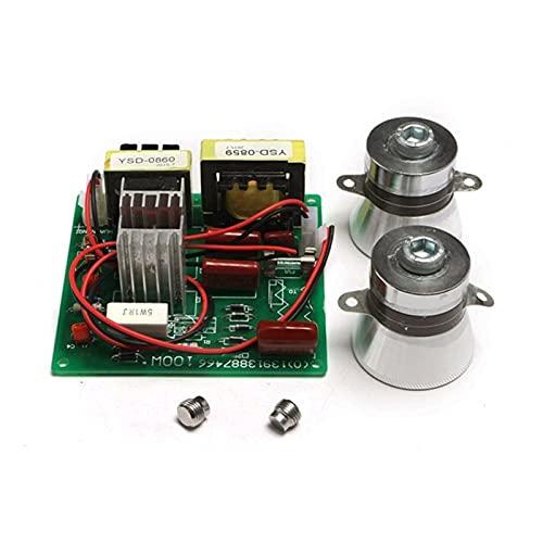 XUNLAN Durable 10 0W 220V Limpiador ultrasónico Tablero de Controlador de energía 40kHz Transductor Ultrasonido Limpieza de la Placa de Circuito de Alta eficiencia de Rendimiento Wearable