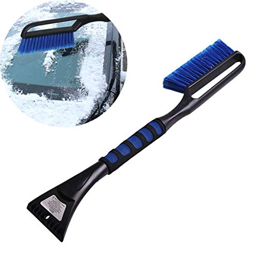 Learn More About LXHSY Auto Snow Brush,Snow Moover 24″ Snow Brush & Ice Scraper – Foam Grip,Foam and Soft Bristle Head,Car Truck SUV Window & Windshield Tool