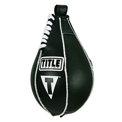 "Title Boxing Super Speed Bag, Green, 4"" x 7"""