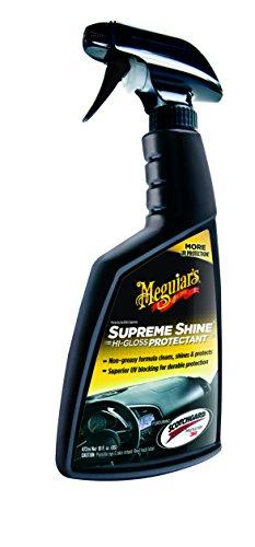 Meguiar's G4016EU Supreme Shine Vinyl&Rubber Protectant Kunststoffpflege, 473ml