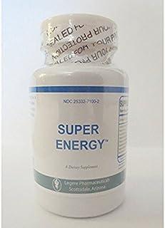 Super Energy - Guarana, Korean Ginseng Natural - 60 Tablets