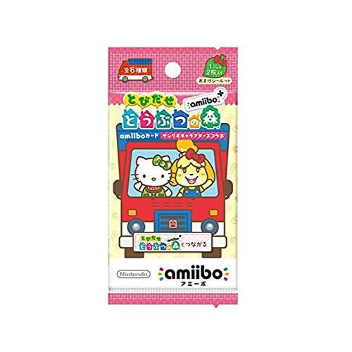 とびだせ どうぶつの森 amiibo+ amiiboカード 【サンリオキャラクターズコラボ】 1パック