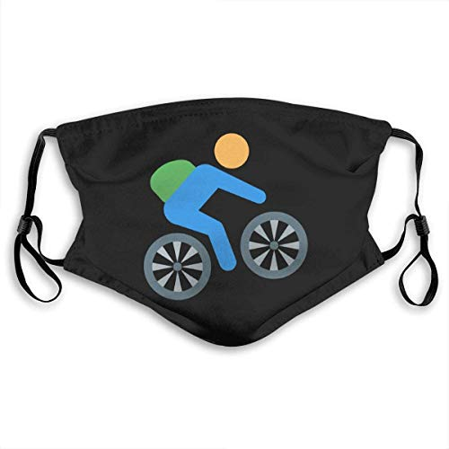 Cycling Mountain Bike Cover Bandana Men Women 5-Layer Activated Carbon Filters Breathable Scarf Shield