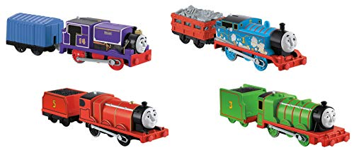 Thomas & Friends Fisher-Price Trackmaster Engines 4 Pack Toy, Multicolor