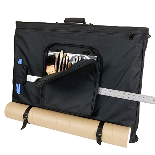 Florence 24'x36' Art Bag with Blueprint Carrying Straps, T-Square...