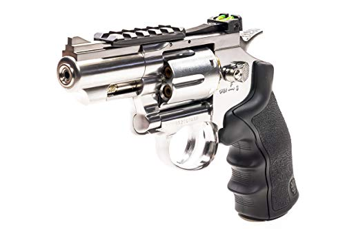 Black Ops Exterminator 2.5 Inch Revolver - Chrome Finish -...