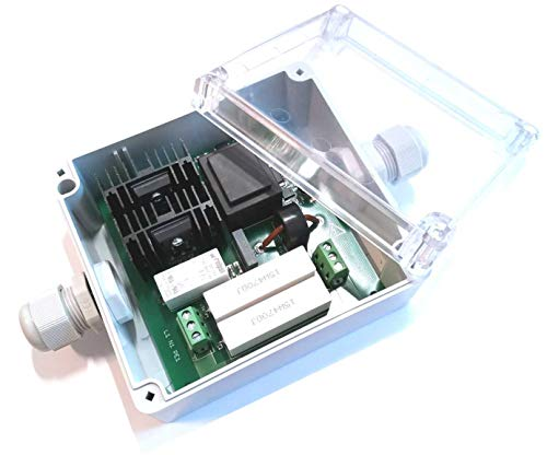 Softstarter Sanftanlauf Einschaltstrombegrenzer Anlaufstarter Softstarter für 230V max. 3kW mikroprozessorgesteuert regelbar 1...5 Sekunden
