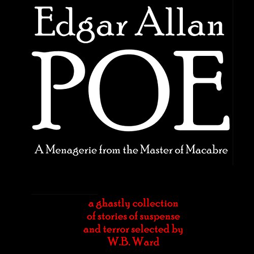 Edgar Allan Poe audiobook cover art