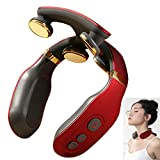 Noova   Neck Massager with Heat for Neck Pain Relief   Neck Massager for Pain Relief, Neck Relax & Neck Massage, Neck Massager for Women & Men, Heated Neck Massager, Intelligent Neck Massager Cordless