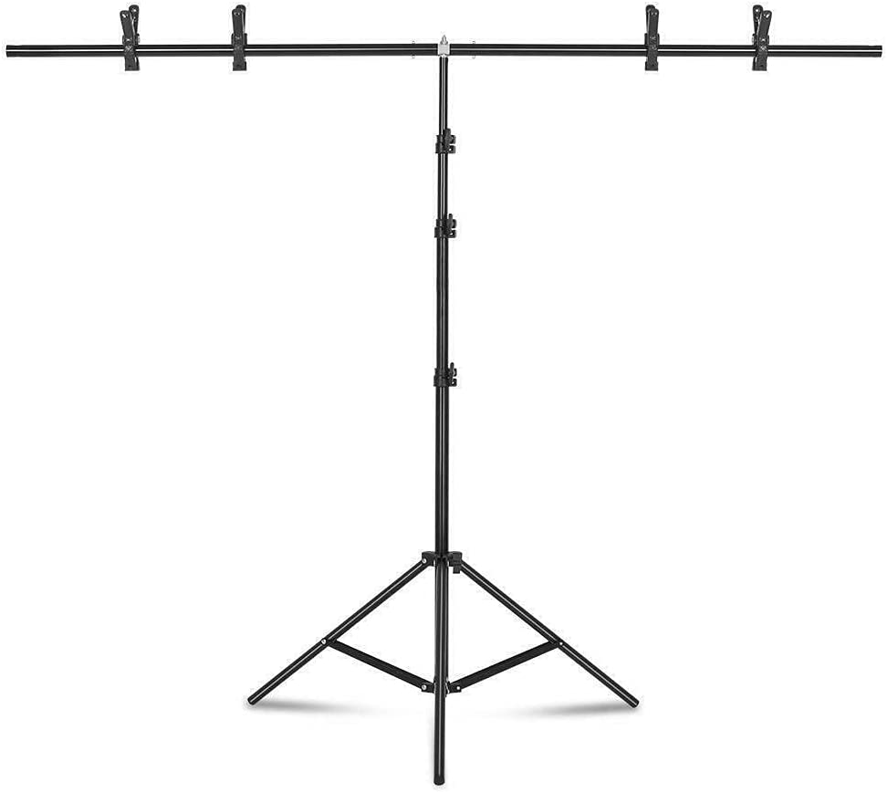 ADHW 6.5Ft Photography Adjustable Backgro Stand 2021 model Support Backdrop Omaha Mall