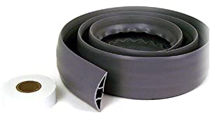 Belkin Cord Concealer with Double-Sided Adhesive Tape (Gray, 6 Feet)