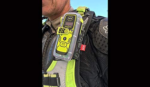 ACR ResQLink View – Baliza de localización Personal GPS Flotante (Modelo PLB-425) – Programada para el Registro del Reino Unido con Brazalete de Bucle Gigante