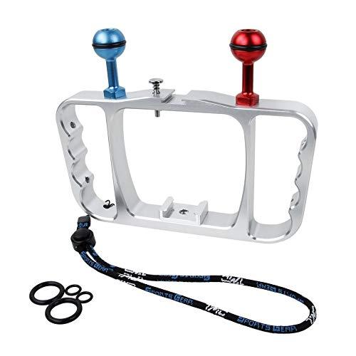 fdghhgjgtkuyiuy Vendita Calda Diving Photography Staffa in Lega di Alluminio Action Camera Diving Accessori Supporto palmare per Gopro Hero 3 Accessori