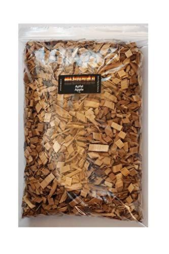 BBQ Woodchips Räucherchips Apfel 1 KG Apple für den Smoker und Kugelgrill