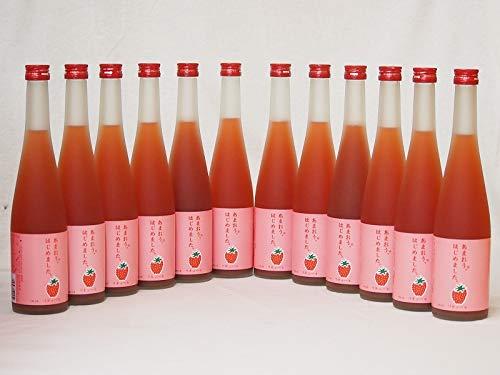 篠崎 あまおう梅酒あまおう、はじめました(福岡県)500ml×12本
