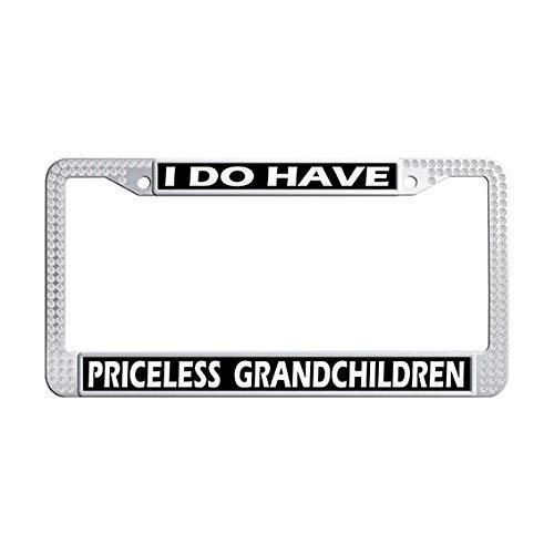 grandchildren license plate frame - 4
