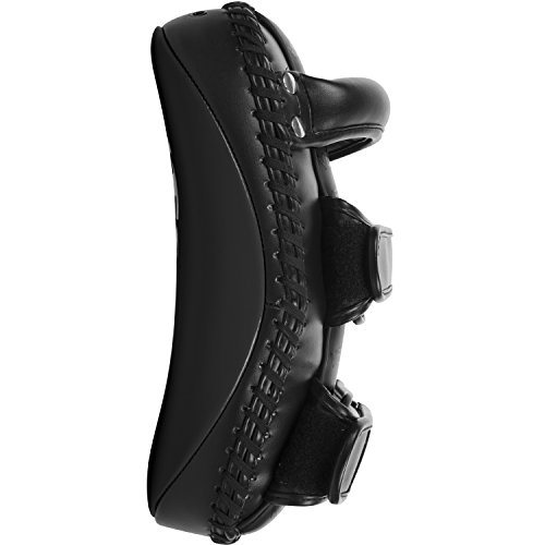 Venum Skintex Leather Light Kick Pad, Matte/Black