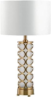 Lámpara de Mesa Moderna, Bola de Cristal Simple Decoración de Arte ...