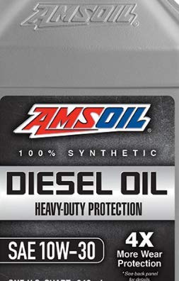 AMSOIL Heavy Duty Synthetic Diesel Oil 10W-30-2.5...
