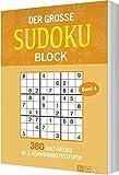 Der groe Sudokublock Band 4: 380 Kultrtsel in 3 Schwierigkeitsstufen
