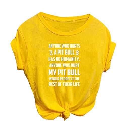 Fossen MuRope Camiseta Deporte Mujer Manga Corta Camisetas Mujer Baratas Blusas Talla Grande, Blusa Camisa Basica