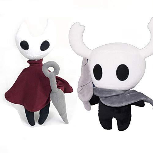 N / A 30cm Hot Game Hollow Knight Peluches Figura Fantasma Peluches Peluches Muñeca Juguetes Niños Juguetes para niños 30cm