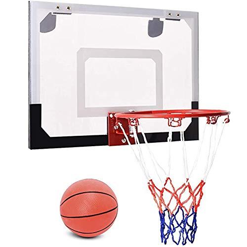 MHCYKJ sobre la Puerta Mini Baloncesto Hoop Montado en la Pared sobre el Tablero de la Puerta Aros para el hogar/Oficina Game Indoor Kids Adultos