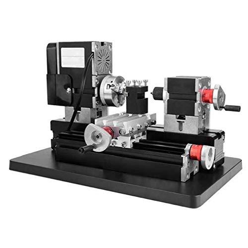 TZ20002MG 60W mini metal Torno B Máquina con 12000r / min motor más grande herramientas de procesamiento de Radio de bricolaje equipo de maquinaria para la industria
