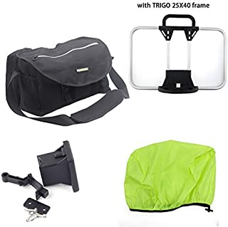 Silverock Cycling Bag Shoulder Front Block S Bag Frame for 3sixty Brompton Fnhon Folding Minivelo Bike
