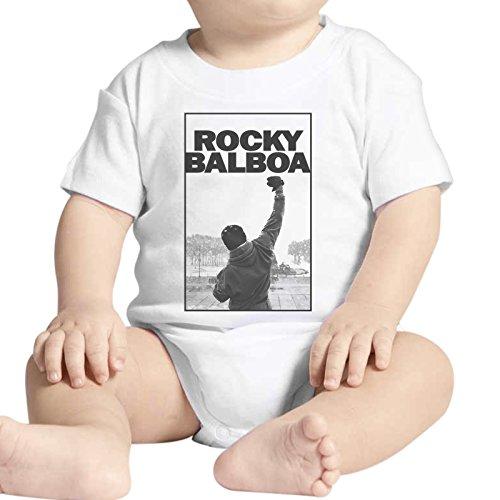 Body bebé Fashion Rocky Balboa La película Film Boxeo–Blanco Blanco Bianco