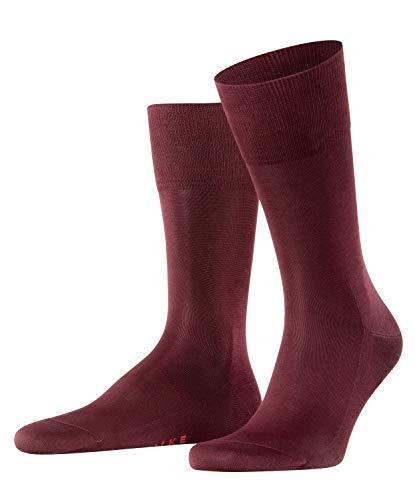 FALKE Herren Tiago M SO Socken, Blickdicht, Rot (Barolo 8596), 41-42