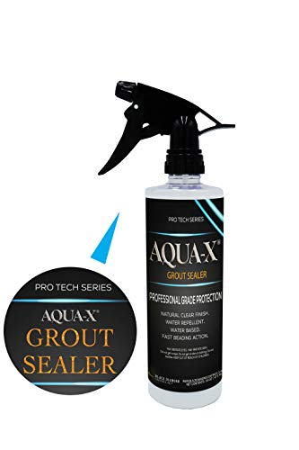 16 oz AQUA-X Grout Sealer, Clear Grout Sealer, Professional Grade