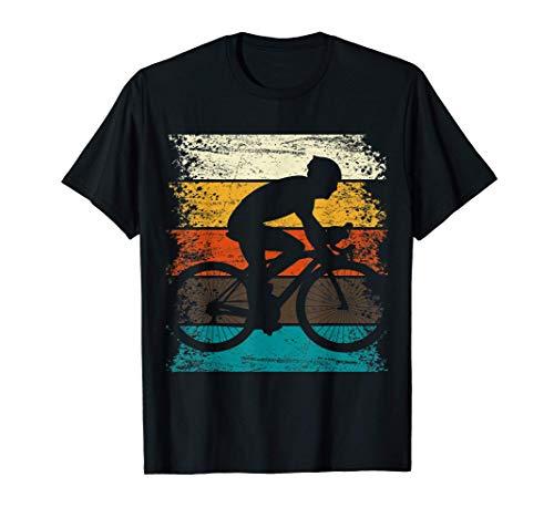 Divertente maglietta da bicicletta RETRO ROAD BIKE regalo Maglietta