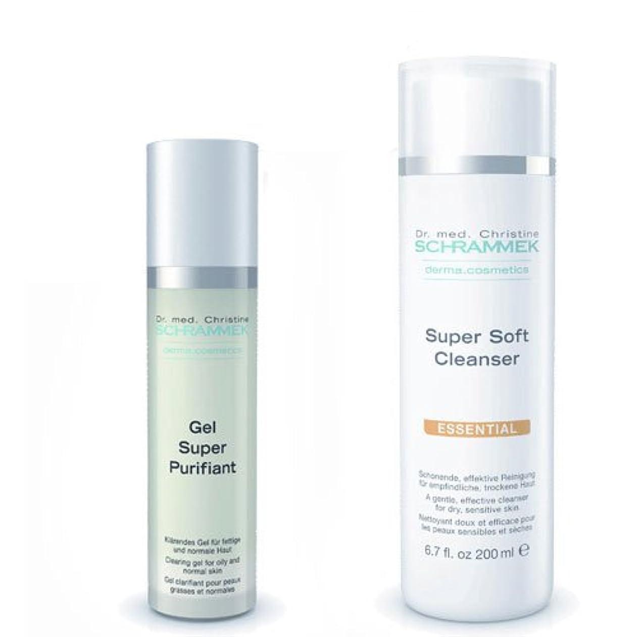 に話す珍しいシャンプーシュラメック 「GREEN PEEL 洗顔2点セット(ノーマル肌?敏感肌?乾燥肌用)」 スーパーソフトクレンザー&ジェルスーパーピュリフィアント