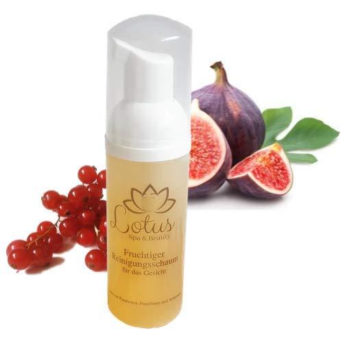 Lotus Spa & Beauty - Mousse nettoyante fruitée (1 x 50 ml).