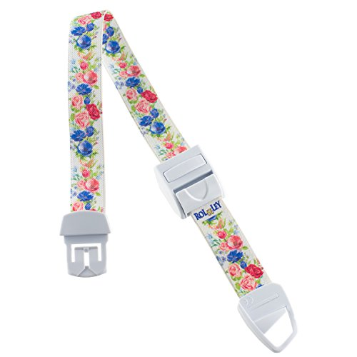 ROLSELEY PROFESIONAL Quick and Slow Release Medical Nurse Tourniquet with FLOWERS WHITE FLORAL Pattern