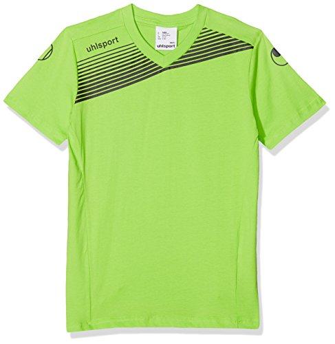 uhlsport - Liga 2.0 Traininig T Shirt Junior, Color Verde,Negro, Talla 14-16 Years