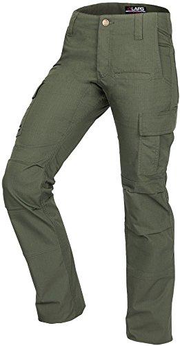 LA Police Gear Women's Mechanical Stretch Ops Tactical Cargo Pants -...