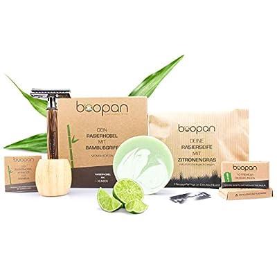boopan® Premium Rasierhobel Rasierset